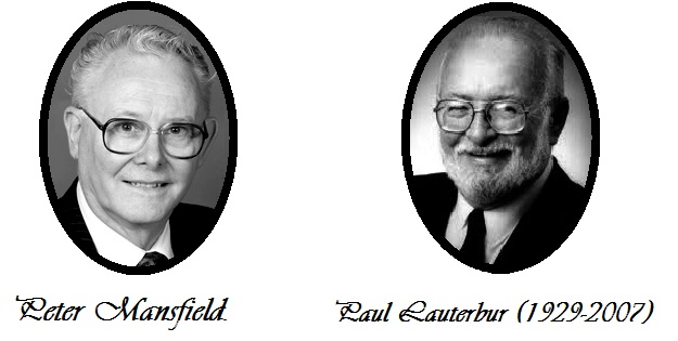 peter mansfield and Paul Lauterbur